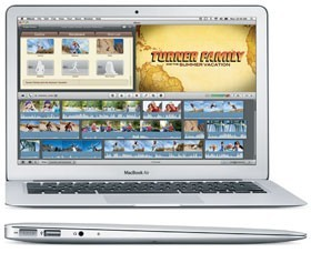 MacBook Air Core 2 Duo 11inch (Late 2010) – 1.4 GHz (SU9400)