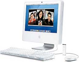 iMac G5/2.1 20-Inch (iSight) - 2.1 GHz PowerPC 970fx (G5)